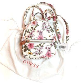 Free Ongkir New Guess Floral Mini Backpack