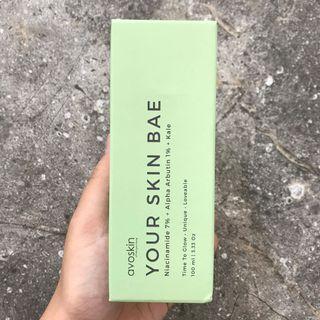 (FreeOngkir) Avoskin Your Skin Bae Niacinamide 7% + Alpha Arbutin 1% + Kale Toner