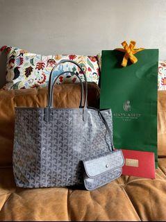 Goyard Tote Bag PM size灰色 特別色 95新 狀態佳