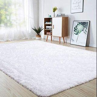 Junovo Ultra Soft Fluffy Accent Rugs for Boys, Girls or Baby Rooms, Living Rooms, Playroom, Nursery