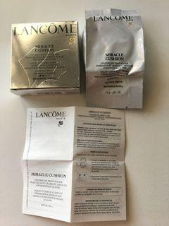 Lancome Miracle Cushion Compact Recharge/Refill SPF 23 #03 Beige Peche