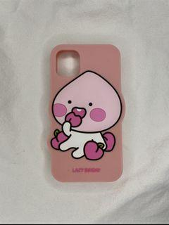 Lightly used iPhone 11 Peach Phone Case