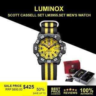 LUMINOX SCOTT CASSELL SET LM3955.SET MEN'S WATCH