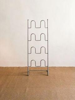 Minimalist Modern Metal Shoe Rack