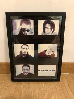 Poster Radiohead Original Merchandise with Frame