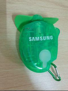 Samsung隨身電風扇(可噴水)