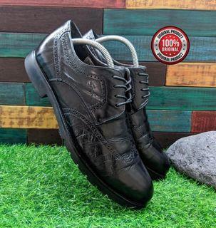 sepatu SATCHI 39G7B422 new trend men's leather shoes low retro Size 41