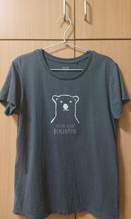 棉質印花T恤