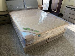大鑫傢俱 新品二線乳膠獨立筒床墊/床底/床墊/寢具