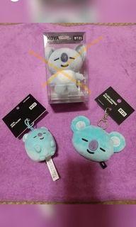 韓國 BT21  KOYA  絨毛鏡吊飾  圓滾滾吊飾 官方 現貨 回饋價
