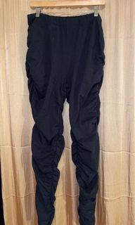 Black Scrunched Pants