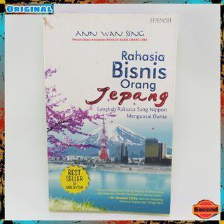 Buku Bisnis Original By Ann Wan Seng   Rahasia Bisnis Orang Jepang