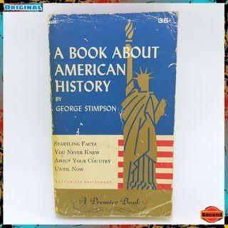 Buku Sejarah Amerika Original Tahun 1956 By George Stimpson   A Book About American History