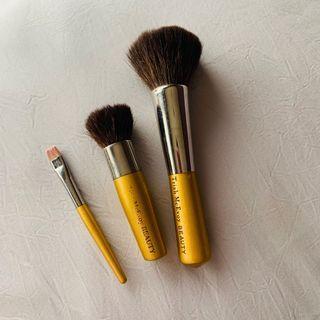 Bundle Sale! Original Trish McEvoy Beauty Matte Gold Brushes