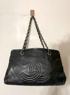 [有卡有貼紙 ]Chanel patent chain black leather bag 漆皮 鏈條 袋