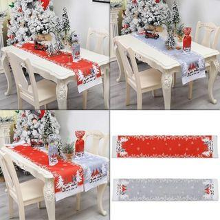 Christmas Gnome Table Runner Tablecloth Home Decoration
