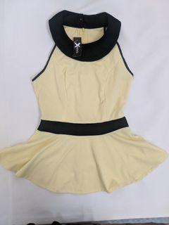 Halter Yellow Top (NEW with Tag)