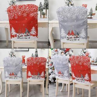 High Quality Christmas Gnome Dinner Chair Covers Christmas Seat Covers