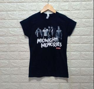 Kaos One Direction Midnight Memories