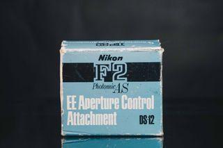 Nikon F2 EE Aperture Control