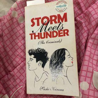 novel storm meets thunder sashi kirana