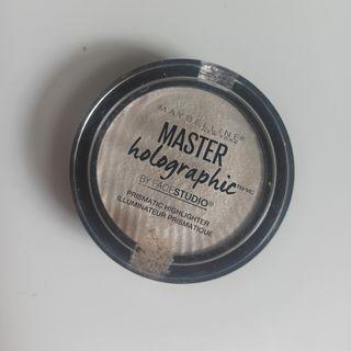[PRELOVED] Maybelline Master Holographic Prismatic Highlighter - 050