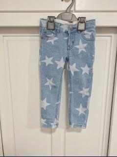 Stella McCartney 童裝 星星牛仔褲