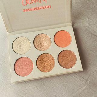 Super Sale! Colourpop I Like Your Face Blush and Highlighter Palette