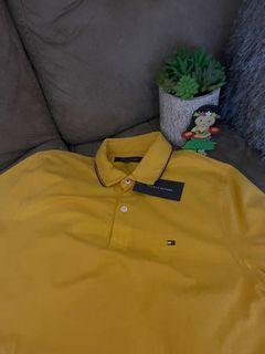 Super sale‼️ Tommy Hilfiger polo shirt yellow gold color