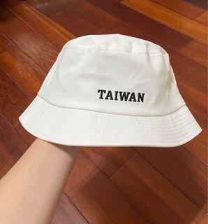 TAIWAN字樣 漁夫帽 #支持
