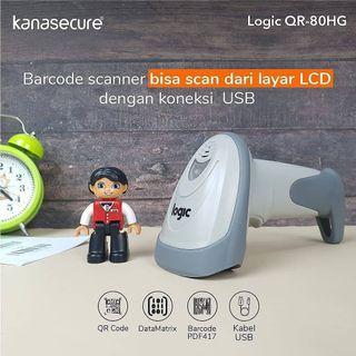Termurah Barcode Scanner Kana Logic QR-80HG