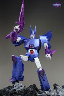 Transformers FT-29T Quietus (Cyclonus) Now only 1 left