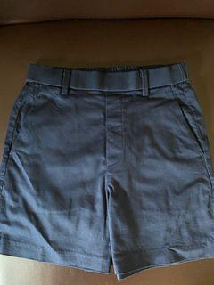 Uniqlo Highwaist Shorts Navy Blue