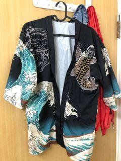 浮世繪日式罩衫