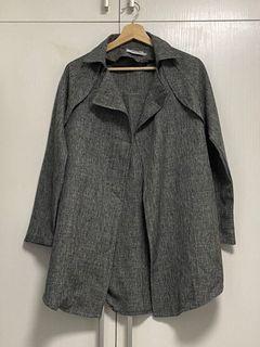 9成新 灰色 韓款 薄外套 Jacket Korean
