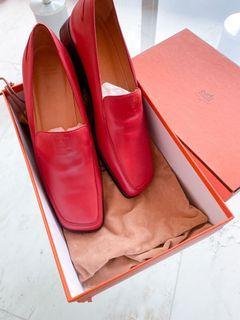 保證真品 HERMES高質感樂福鞋(38號)