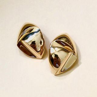 AUTHENTIC CHRISTIAN DIOR STATEMENT EARRING | MADE IN GERMANY | VINTAGE | CLIP ON | EXCELLENT CONDITION | SOURCE JAPAN | CLEAN READY TO WEAR | SOLD AS IS NO ORIGINAL INCLUSIONS