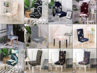 Bigger Size Elastic Spandex Chair Protective Dining Chair Cover