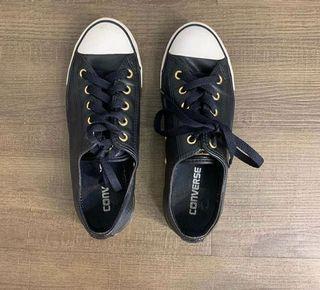 Converse leather black preloved