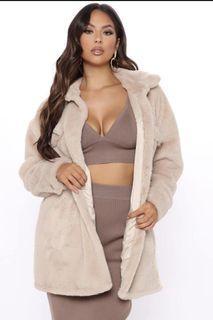 Fashion Nova Fur coat