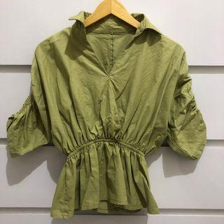 Green Matcha Blouse