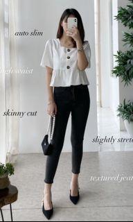Herspot Grey Skinny Jeans BRAND NEW