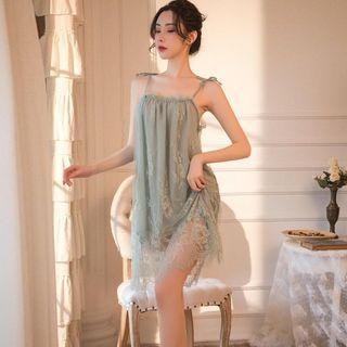 Mididress lingerie baju tidur wanita dewasa 1016