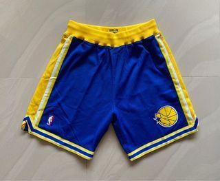 Mitchell Ness 勇士隊 AU 球員版 復古 球褲 L號 Curry