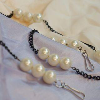 Pearl Strap Mask - Kalung Masker  Ryvale