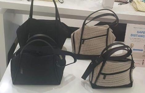 Pleats Please By Issey Miyake Small Bag