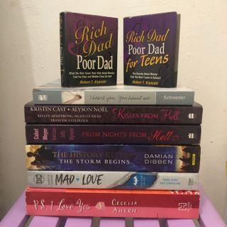 Preloved English / Import books / novel inggris