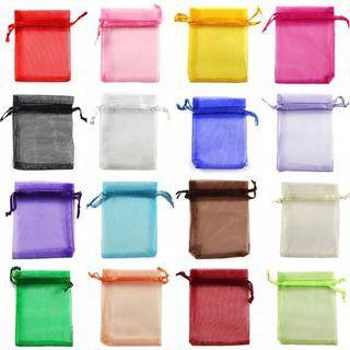 Organza Drawstring Mesh Bag Candy Jewelry Gift Pouch