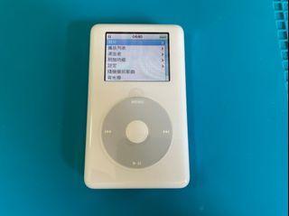 「私人好貨」🔥收藏機 iPod 20GB A1099 功能正常 無盒/含配件 MP3 自售 中古 二手機 音樂機 隨身聽