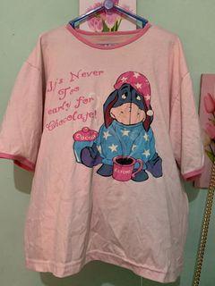 Baju tidur dewasa motif pink